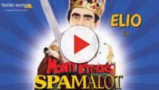 Elio al Brancaccio di Roma con Spamalot, musical dei Monty Python
