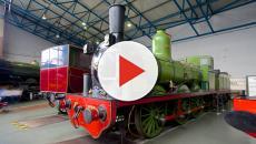 El Museo Nacional de Ferrocarril de York en Inglaterra