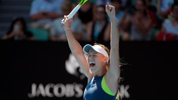 TENIS: Caroline Wozniacki comienza arrasando en Doha