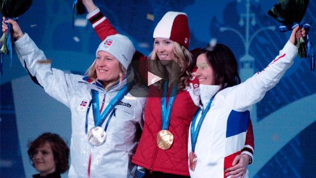 Chloe Kim se siente muy cómoda en los juegos olímpicos