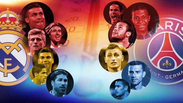 El Real Madrid y el PSG están bajo diferentes tipos de presión