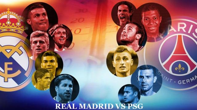 PSG se centra en el Real Madrid un año después de una dolorosa salida