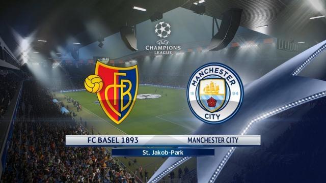 Manchester City golea contra el Basilea en una victoria fácil