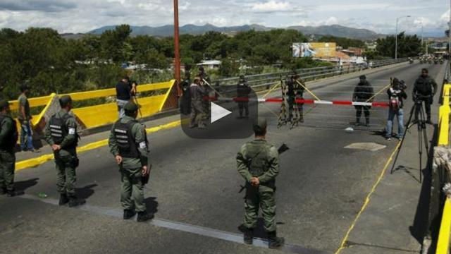 Cierran fronteras en toda Venezuela