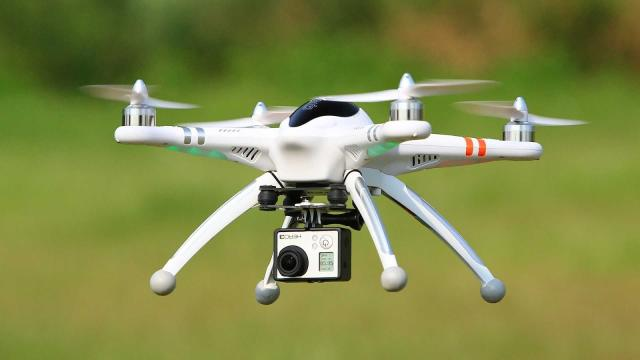 Usan drones y no camiones para reducir las emisiones de carbono