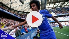 La estrella del Chelsea Willian sueña con jugar con el Barcelona o el Madrid