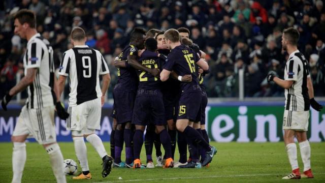 La Juve empezó hiriendo al rival, pero terminaron más heridos ellos al final