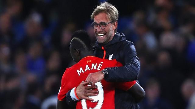 El rey del regreso del Liverpool con hat-trick, dice Jürgen Klopp sobre Mané