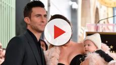 Adam Levine y Behati Prinsloo le dan la bienvenida a su segunda hija