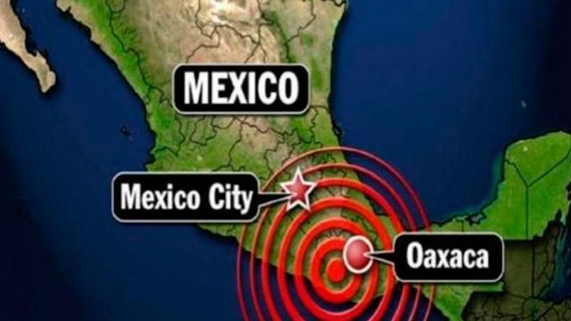 ¡Fuerte sismo con epicentro en Pinotepa Nacional, Oaxaca!