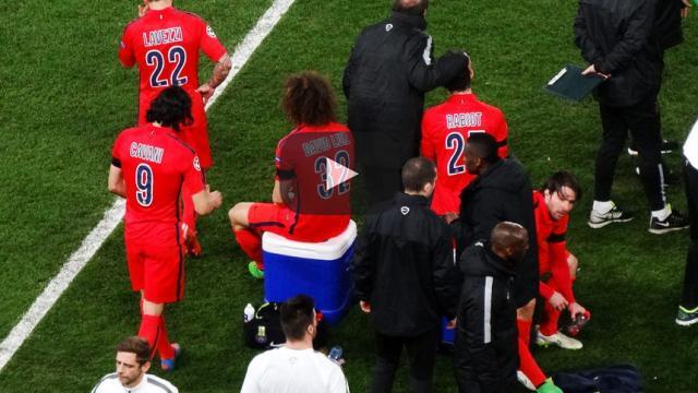 El centrocampista Rabiot está desconcertado de la derrota