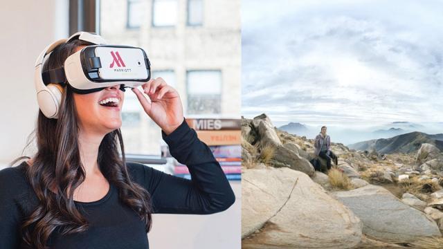 VR no se puede medir con la naturaleza