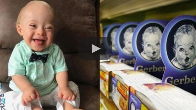 El primer bebé Gerber del año con Síndrome de Down de 2018