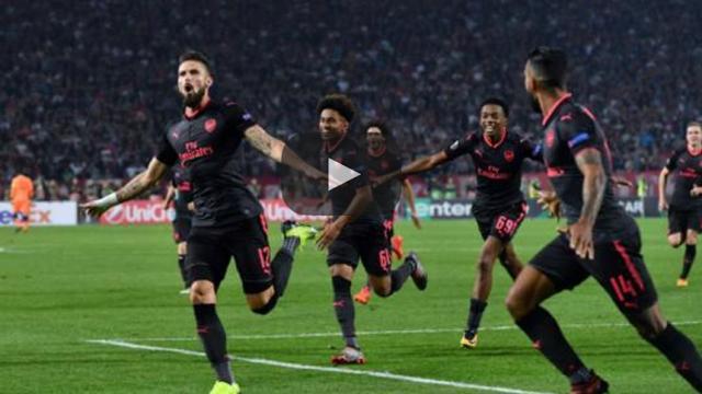 Un triunfo sencillo del Arsenal en la Europa League
