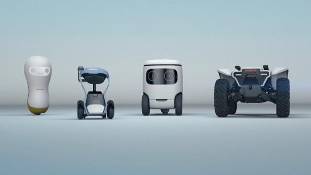 Honda realiza un lanzamiento en tecnología robótica