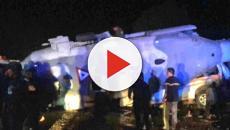 Video: En México mueren 13 personas al estrellarse un helicóptero