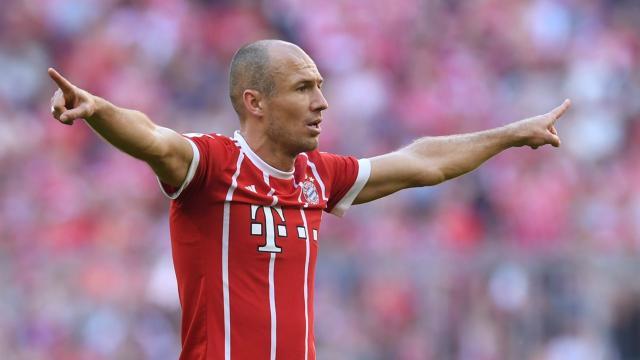 Robben apunta dos años más al 'nivel más alto'