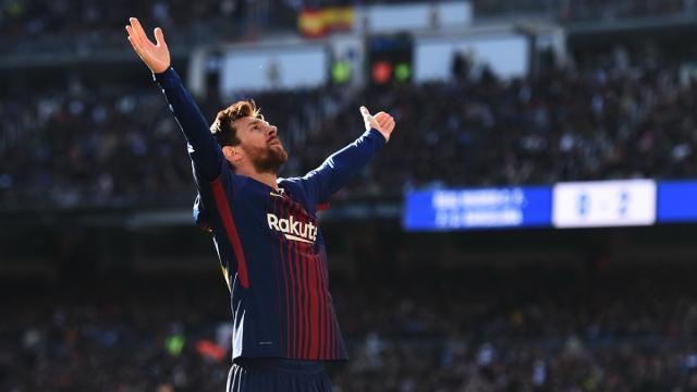 Futbol: Londres está esperando a Leo Messi