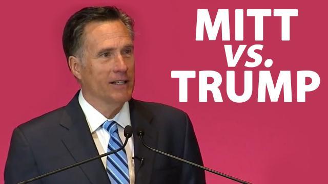 Mitt Romney, crítico de Trump anuncia su candidatura al Senado por Utah