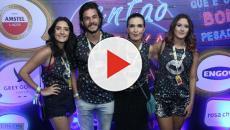 Vídeo: 'Estou cada vez mais feliz', diz Fátima Bernardes com filhas e namorado.