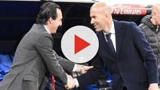 Zidane y Emery se enfrentan en una batalla de la Champions League