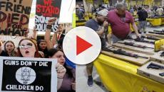 Video: Estudiantes de Florida organizan marchas de protestas