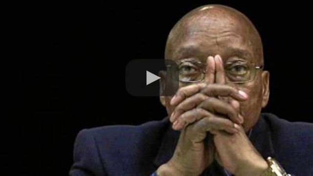 El presidente sudafricano Jacob Zuma le pide que renuncie al puesto más alto.