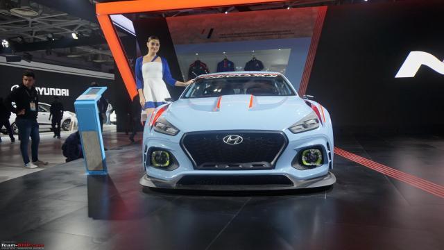 Auto Expo 2018 de Hyundai Ioniq