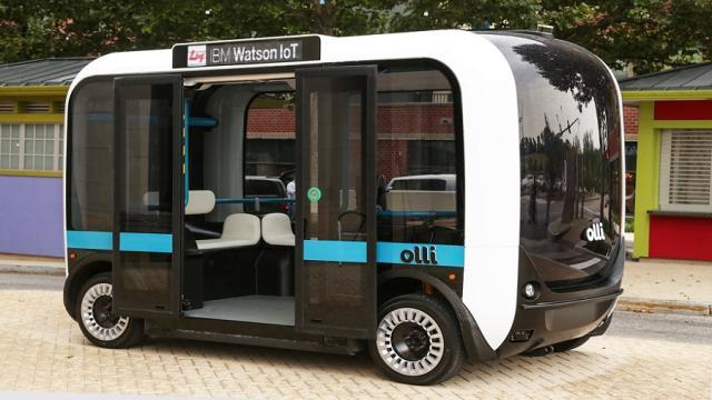 Ahora los autobuses tienen una vista mas futurista