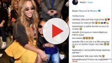 Assista: Filha de Beyoncé volta a aparecer e arrasa com novo visual; veja