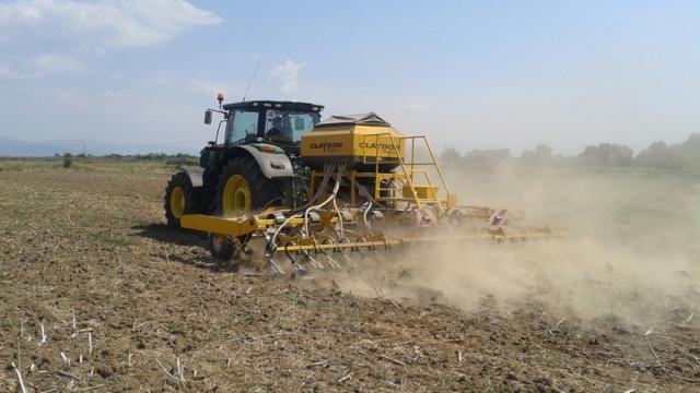 Agricultura de alta precisión para el trabajo en el campo