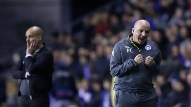 Los líderes de la Liga Premier fugitiva Wigan