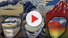 Japón: Las pinturas se admiran hasta en el inodoro