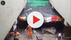 Assista: Fotos de Dado Dolabella na cadeia são divulgadas e detalhes surpreendem