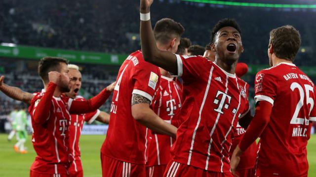 James es feliz en el Bayern Munich