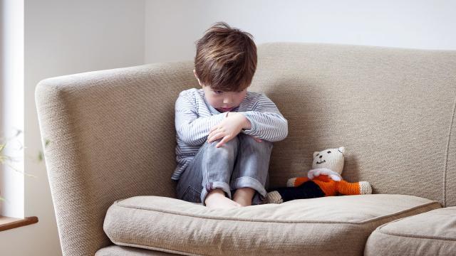 La depresión infantil es un problema cada vez mayor