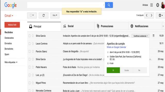 Gmail Go: aquí está la versión 'liviana' de la aplicación de correo electrónico