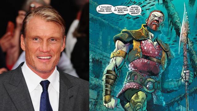 Aquaman: el personaje de Dolph Lundgren es completamente diferente de los cómics
