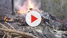 Rescatadores iraníes siguen buscando restos del accidente aéreo