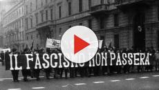 Manifestazione antifascista a Roma il 24 febbraio 2018