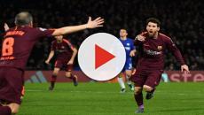 Futbol: Chelsea y Barcelona están en 1x1 y Messi rompe su tabú