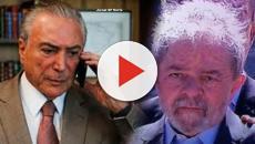 Lula diz que Temer visa eleitores de Bolsonaro para tentar se eleger