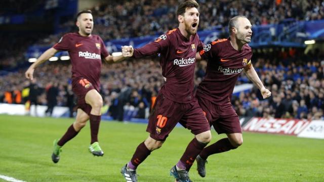 Lionel Messi rompe los grilletes y su maldición ante el Chelsea