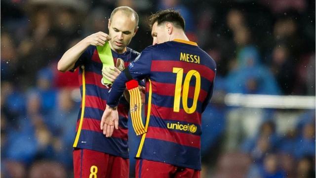 El astro mayor del Barcelona le dice a Leo Messi: 'Me voy'