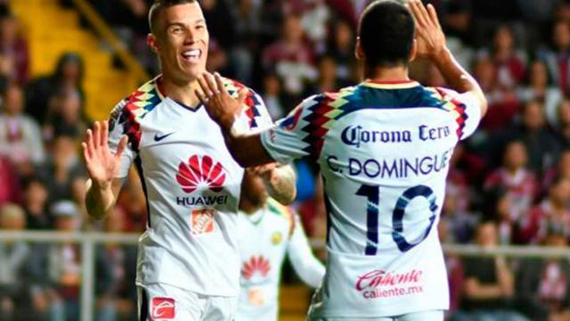 El América de México goleó al Saprissa por Concachampions