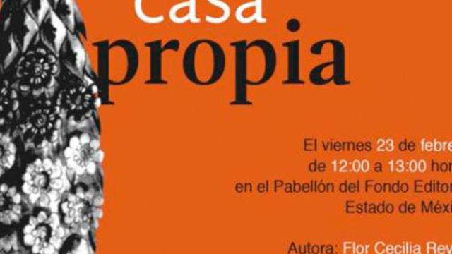 Flor Cecilia Reyes presenta su libro 'Casa propia'