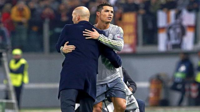 Futbol: Cristiano Ronaldo estalla contra Zidane y hay una confusión en el Real