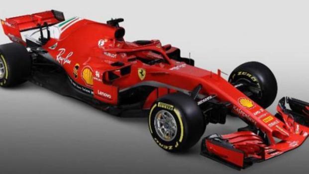 Ferrari SF71H: presentata la monoposto rossa di 'rabbia'