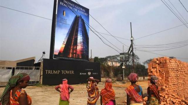 Donald Trump Jr. elogia el 'espíritu' de la gente de la India