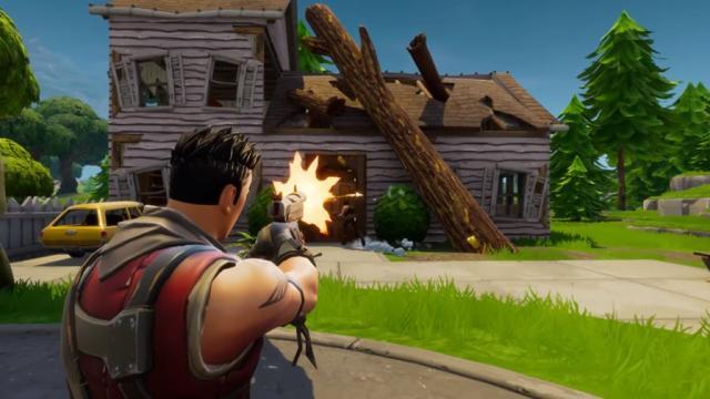 'Fortnite: Battle Royale' tiene una nueva arma llamada 'Hand Cannon'